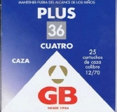 CARTUCHO GB PLUS 36 GR